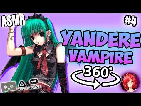 Yandere Vampire Takes Care Of You~ [ASMR] 360: Vampire Roleplay #4 360 VR