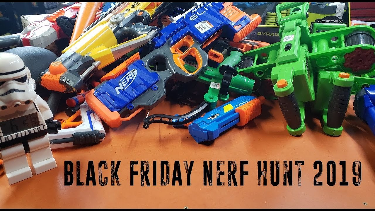 Black Friday Nerf Hunt 2019