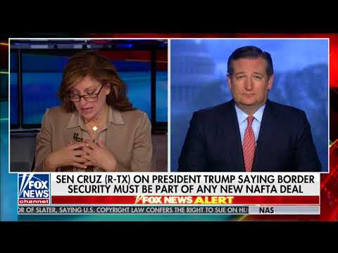 Sen. Cruz on Fox News - April 23, 2018