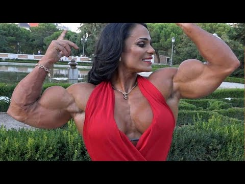IFBB MUSCLE, | FEMALES BODYBUILDING, – PALOMA PARRA, GYM WORKOUT,