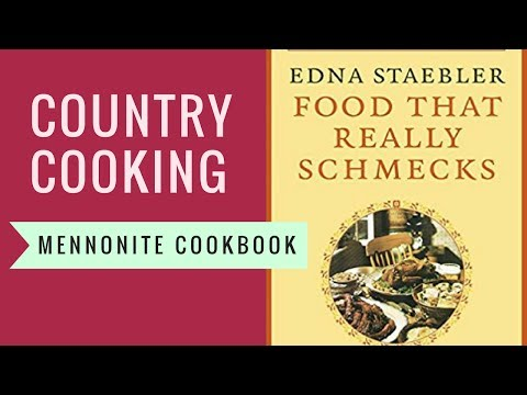 Country Cooking -- Mennonite Cookbook
