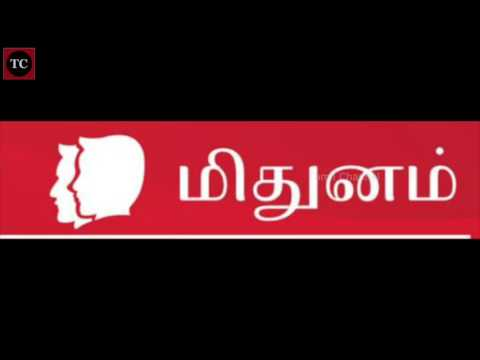 மிதுனம் ராசி 2017 ஆங்கிலப் புத்தாண்டு ராசிபலன் | Mithunam 2017 Rasi Palan in Tamil