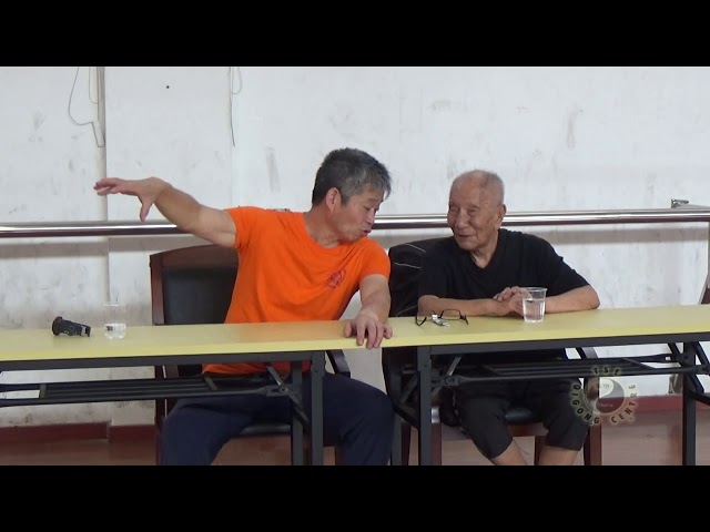 Chi Sau with Grandmaster Ip Chun pt6