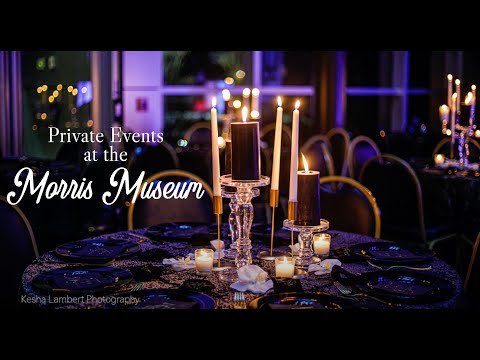 Private Events at the Morris Museum