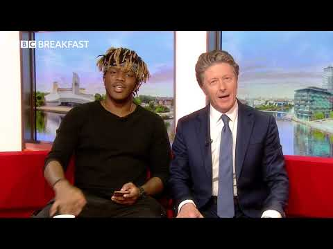 KSI COLLAB WITH NEWSREADER CHARLIE STAYT | BBC Breakfast