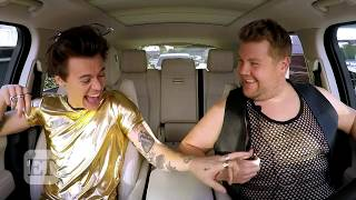 'Carpool Karaoke:' Harry Styles Hilariously Acts Out Famous Rom-Com Scenes Admits He Cries on Sta…