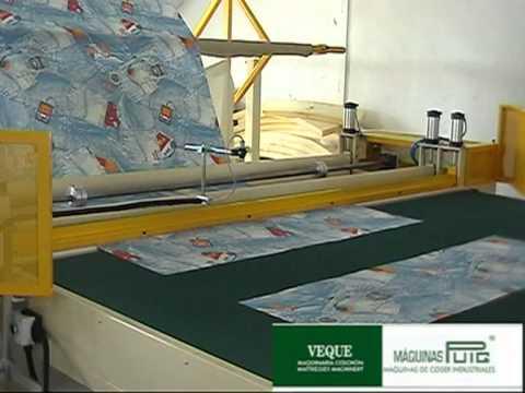 M quina cortadora de tela youtube - Telas de tapicerias para sofas ...