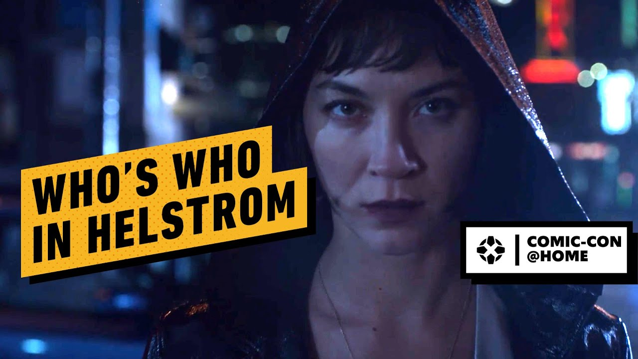 Who's Who in Hulu's Helstrom | Comic Con 2020 - YouTube