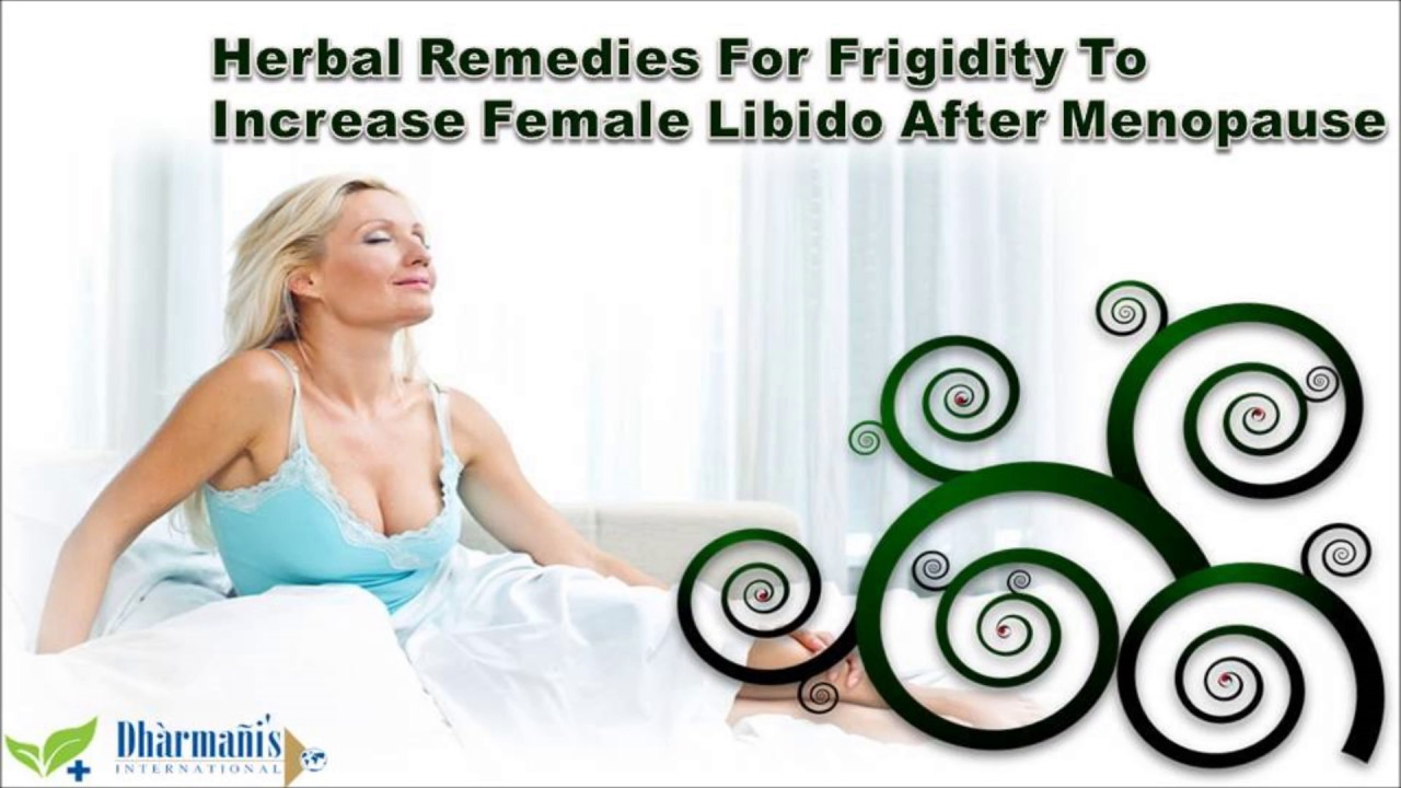 Herbs to increase libido after menopause