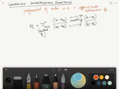 Lagrange Interpolation functions