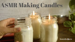 [ASMR] DIY Natural Candle Making with Essential Oils (Soft Spoken): Part 2