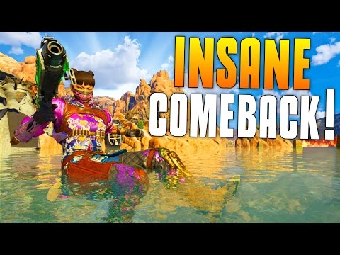 INSANE COMEBACK! (Black Ops 3 Funny Moments) Swimming Glitch, Fails, Clips! – MatMicMar