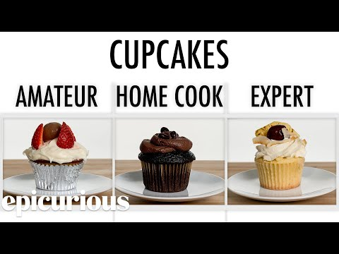 See How 3 Cooks Make Cupcakes!
