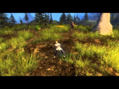 GW2 Consortium Harvesting Sickle Animations