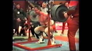 1990 Чемпионат СССР троеборье 3часть