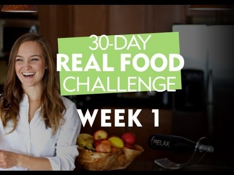 30-Day Real Food Challenge with Erin Motz - Week 1