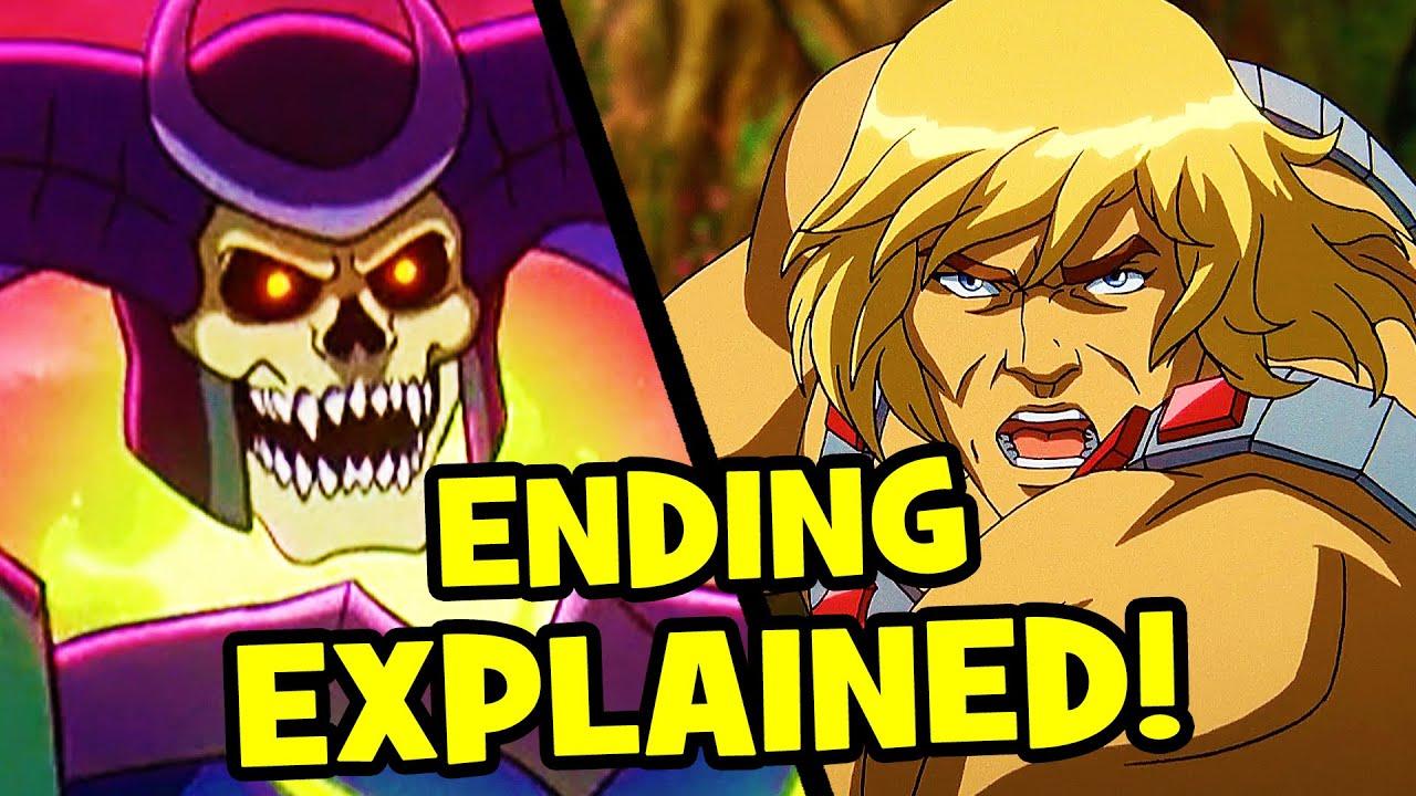 The SHOCKING ENDING of MASTERS OF THE UNIVERSE Revelation Explained!