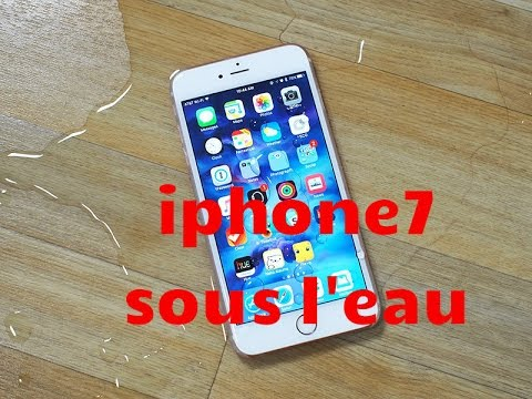 iphone 7 sous l 39 eau youtube. Black Bedroom Furniture Sets. Home Design Ideas