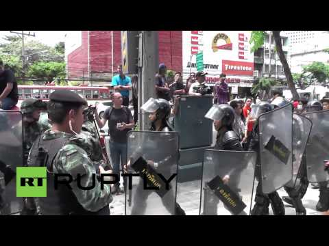 Thailand: Anti-coup protesters rally in Bangkok