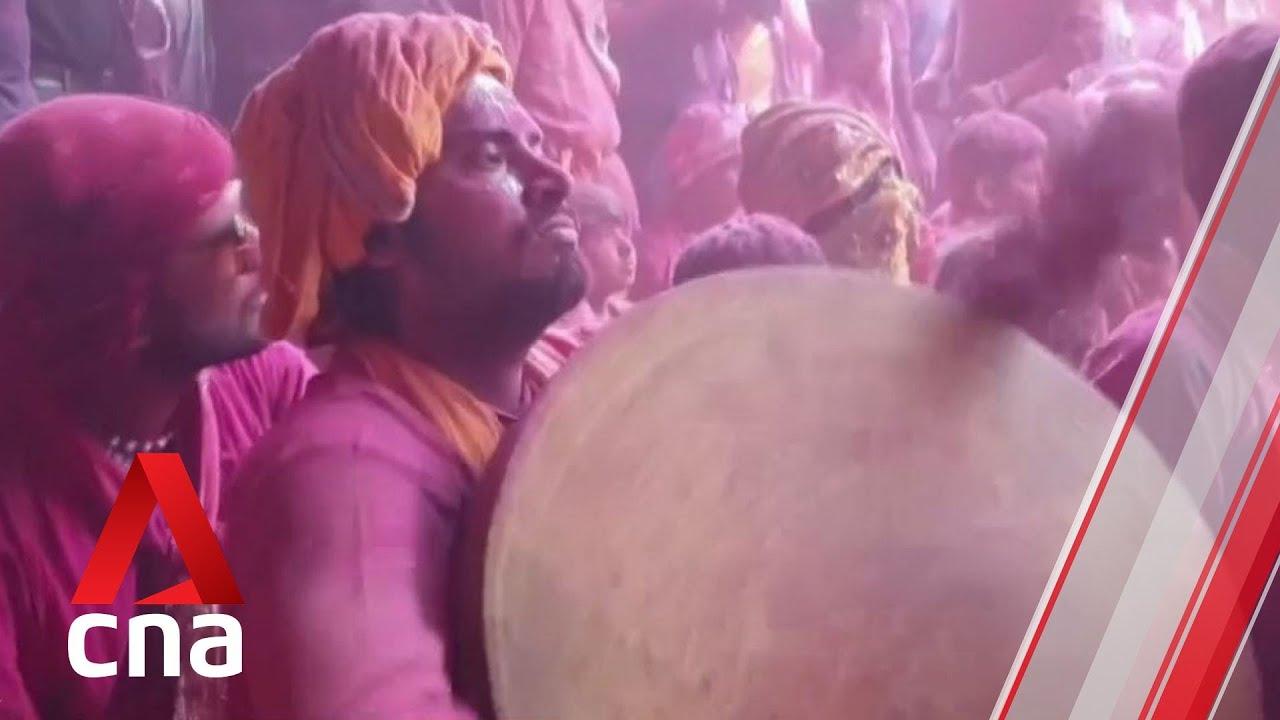 Indians gather for Holi celebrations as virus cases surge