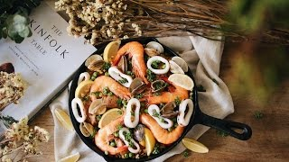 一鍋到底!西班牙海鮮燉飯 Spanish Seafood Paella