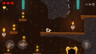 Doge and the Lost Kitten (by Hot Teapot) - platform game for android - gameplay.