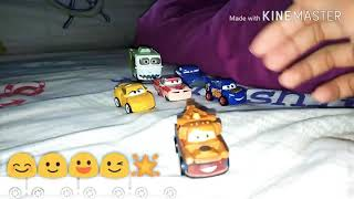 Mattel Disney cars 3 mini racer (mater) 😊🙂😃🌟