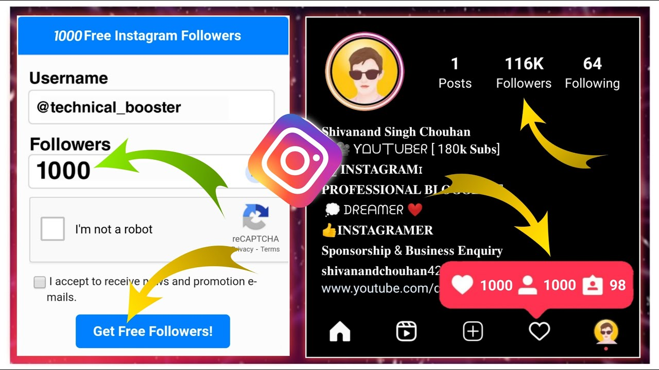 Download how to increase instagram followers and likes 2021   instagram par follower kaise badhaye 2021