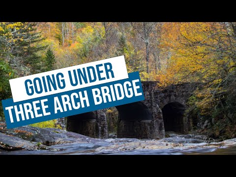 exploring-three-arch-bridge-on-highway-215-in-north-carolina
