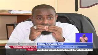 abduba dida pleads with kenyans to rescue the country from president uhuru kenyatta and rutos hands