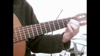 Never On Sunday  - Ta Pedia Tou Pirea - for solo acoustic guitar