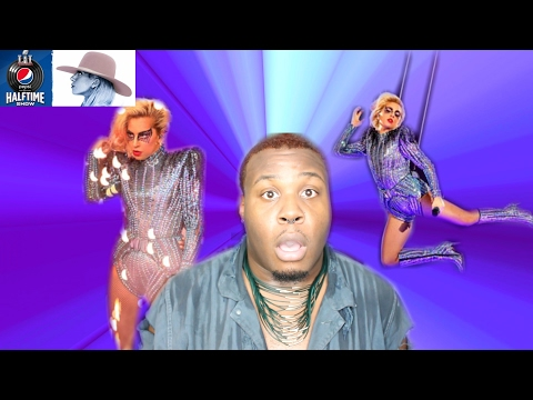 "LADY GAGA ""SUPERBOWL HALFTIME SHOW"" (REACTION)"