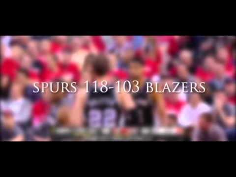 The Spurs 2014 Playoffs Run in 7 Minutes (Micro-Movie)