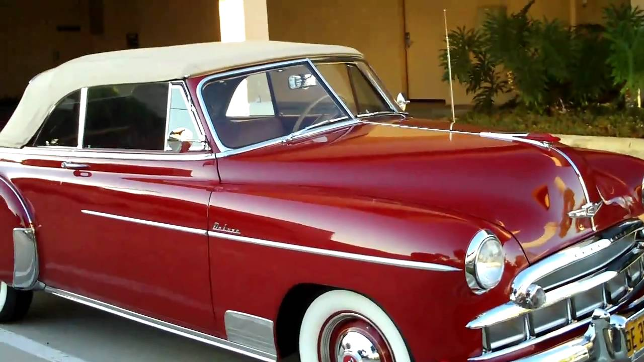 1949 CHEVY STYLELINE DELUXE SEDAN  A WHOLE NEW LOOK