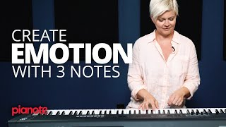 Create Emotion With Just 3 Notes (Piano Lesson)