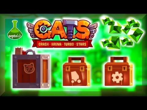 C.A.T.S. : Spending 750 Gems! Boxes ~ Giant - Super - Legendary