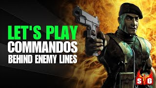 Let's play Commandos Behind Enemy Lines - Complete Game - English Commentary