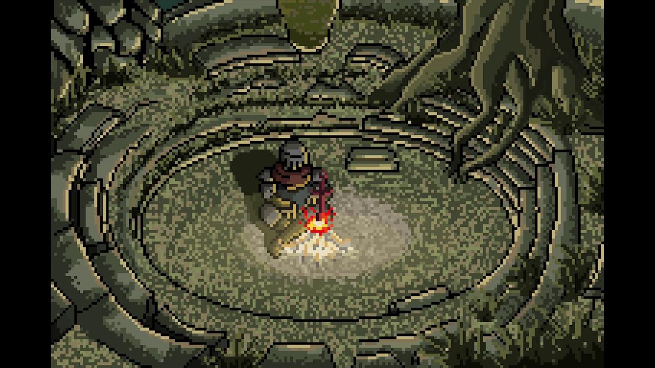 Dark Souls Firelink Shrine Pixel Animation Youtube