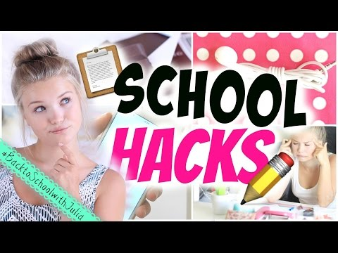 7 SCHOOL LIFE HACKS! Leichter lernen, mehr Energie, persoenlicherkalender uvm! | Julia Beautx