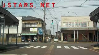 JSTARS.NET新潟県新発田市街地から国道7号線へ出る。新発田市内をドライブ。 【車載動画】