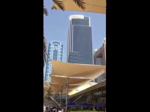 Dubai & World Trade Area, Emirates Towers & Burj Khalifa 12/05/15