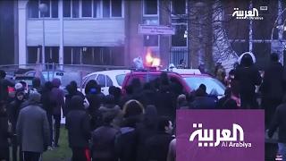 تظاهرات شبابية تتحول لمادة انتخابية في فرنسا