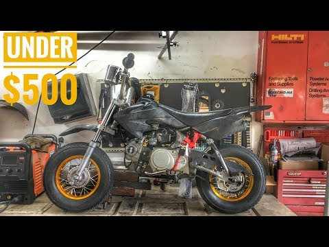 ULTIMATE Budget Mini Moto/Pit Bike BUILD!