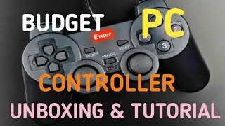 Best Budget PC Gaming Controller - Unboxing & Full Tutorial (Should You Buy it @Rs 300/-)(Hello Everyone in this video i had unboxed and showed you the full tutorial of Enter E-GPV Budget PC Gaming controller Now play high end pc games with Rs ..., 2016-06-30T07:32:22.000Z)