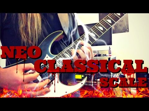 Neoclassical Metal Lesson | The Phrygian Dominant Scale | Nuclear War!!