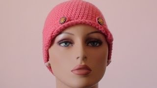 Crochet for Cancer Ladies Chemo Cap: Wings Like Eagles
