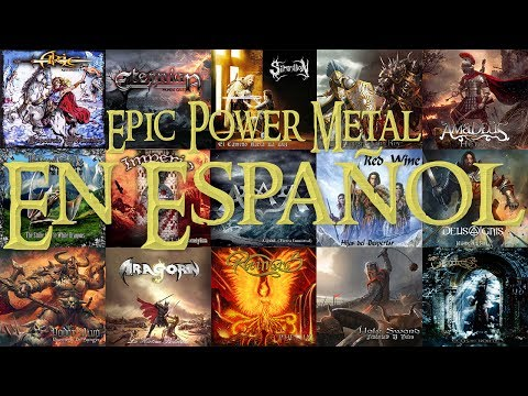 Epic Power Metal En Español | 40 Bandas