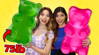 I melted every Walmart gummy to make the BIGGEST GUMMY EVER! ft @Gloom