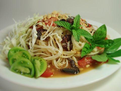 Image result for cambodian green papaya salad