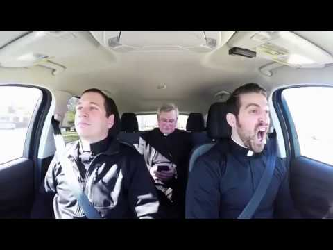 A message for young Catholics -- Carpool Karaoke with Bishop Malloy